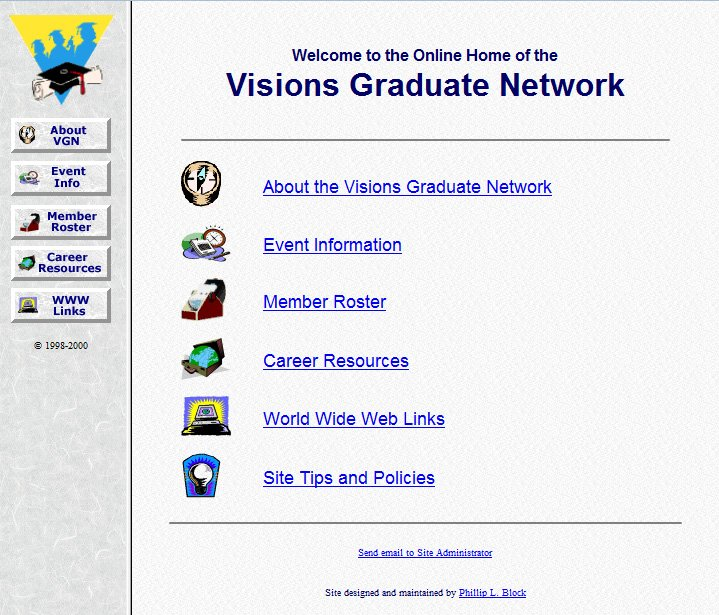 Visions Graduate Network Home Page