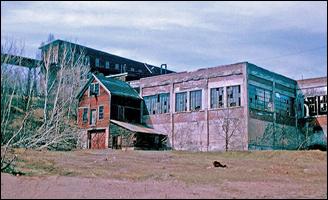Historic Mining Buildings in the Keweenaw