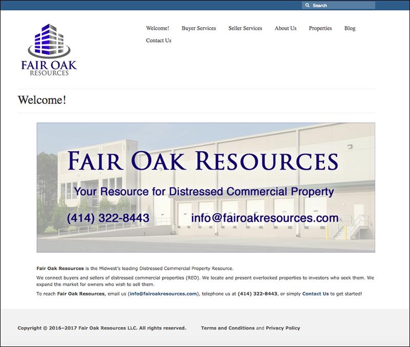 Fair Oak Resources Home Page