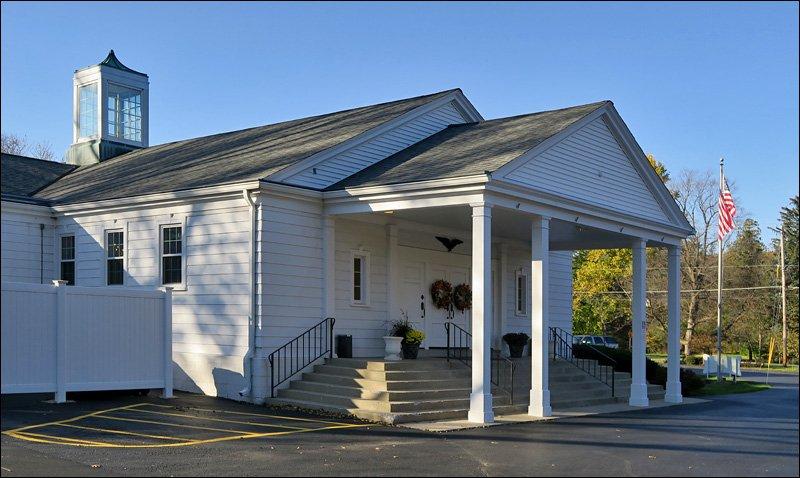 Elm Grove Woman's Club Entrance