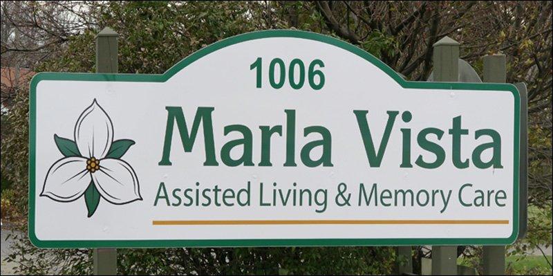 Marla Vista Sign