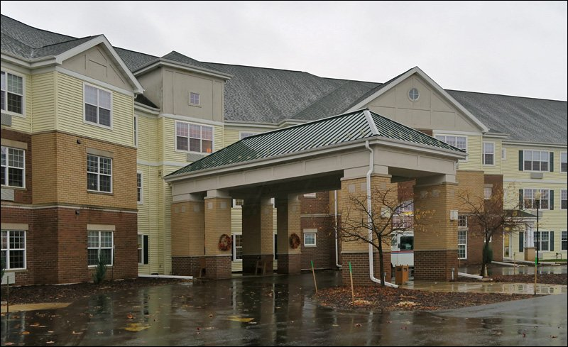 Bellevue Retirement Community Entrance