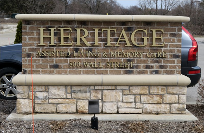 Heritage Elm Grove Sign