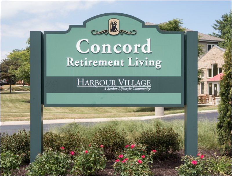 Concord Retirement Living Sign