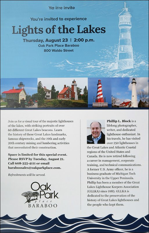 Lights of the Lakes at Oak Park Place Baraboo Poster