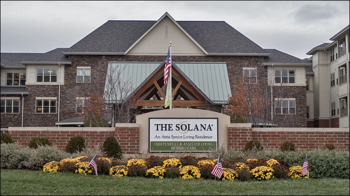 The Solana at Deer Park - Sign and Entrance
