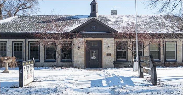 Allouez Community Center Entrance