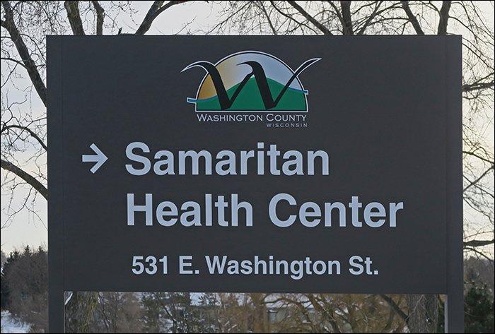 Samaritan Health Center Sign