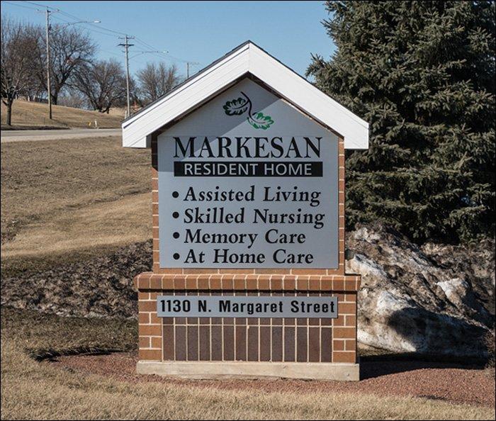 Markesan Resident Home Sign