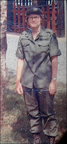 Sgt. Linda McClenahan, Long Binh, Vietnam, 1970