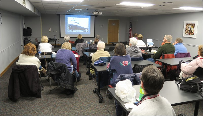 Greendale Library Lunch and Learn Audience