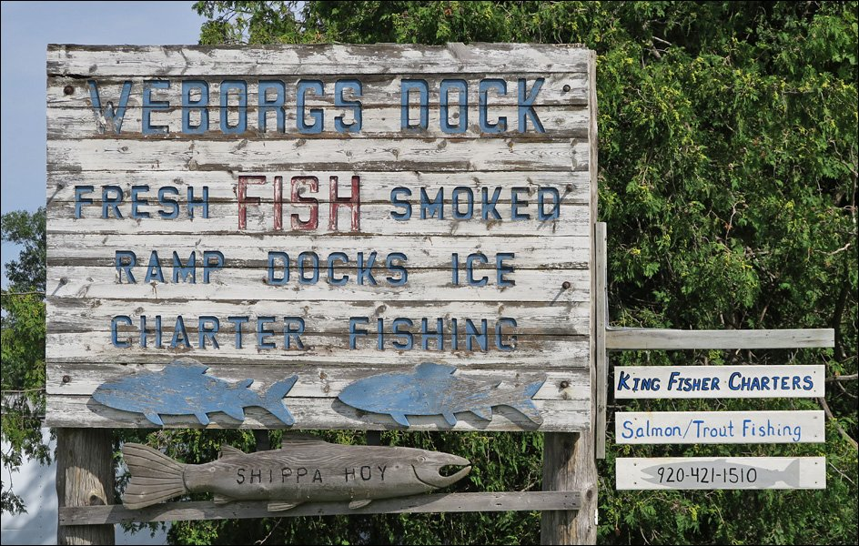 Weborgs Dock Sign