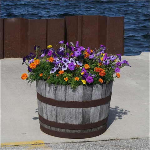 Barrel 'o' Flowers