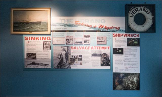 The Verano Shipwreck Exhibit