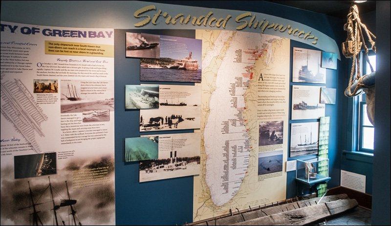 Stranded Shipwrecks Exhibit