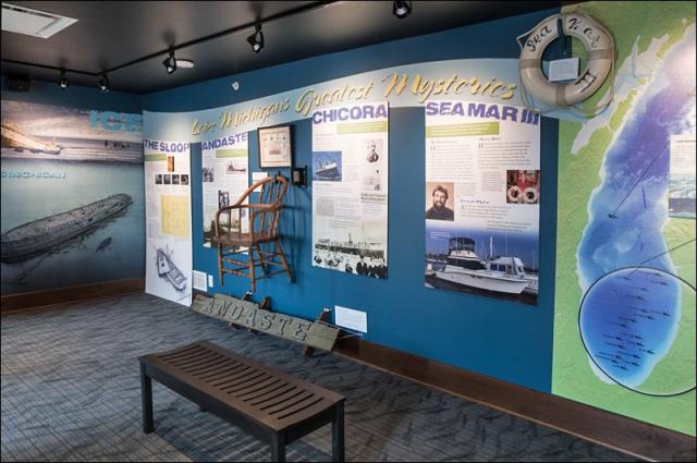 Lake Michigan's Greatest Mysteries Exhibit