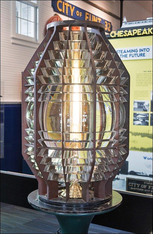 Fourth Order Fresnel Lens from Ludington North Breakwater Light