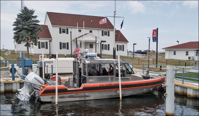 U.S. Coast Guard Rescue Boat