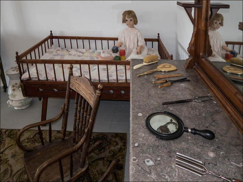 Sand Point Lighthouse - Crib and Rocker