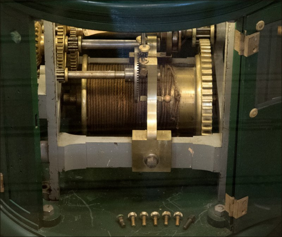 Stannard Rock Clockworks Mechanism
