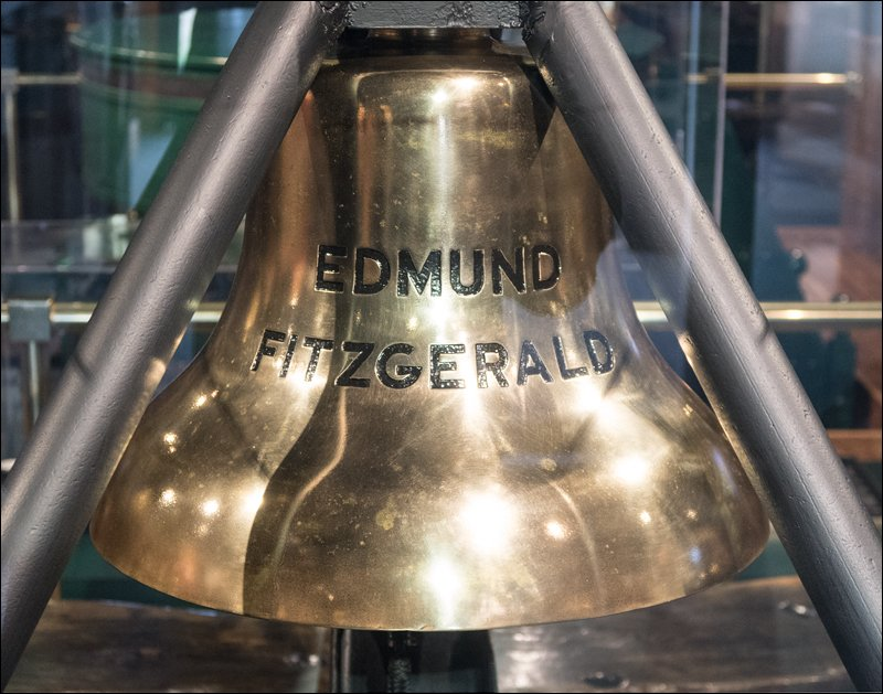 S.S. Edmund Fitzgerald Ship's Bell