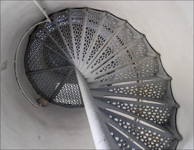 Pt. Iroquois Tower Stairway