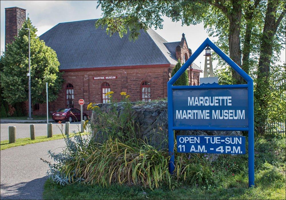 Marquette Maritime Museum Building