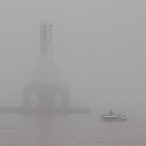 Ghostly Lighthouse