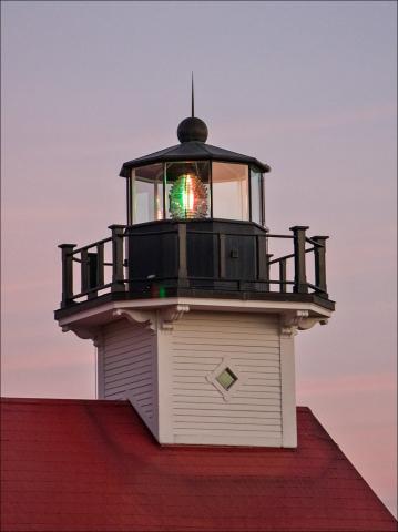 Port Washington 1860 Light Station at Christmas