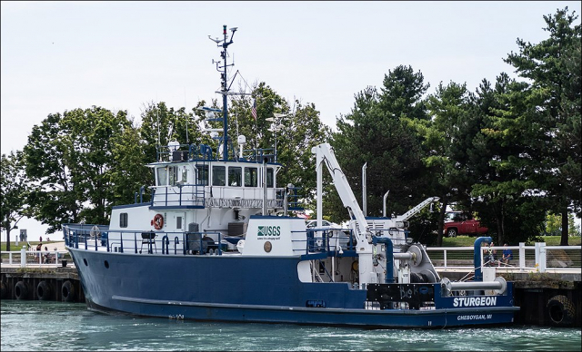 USGS Research Vessel Sturgeon