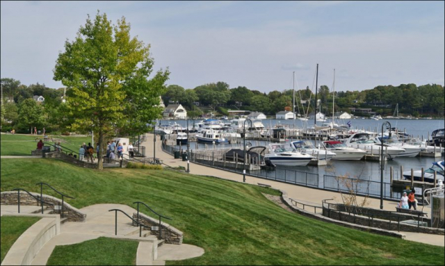 Charlevoix Harbor and Marina