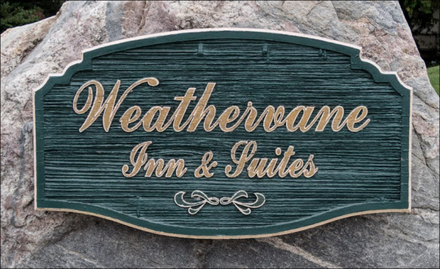 Weathervane Inn & Suites Sign