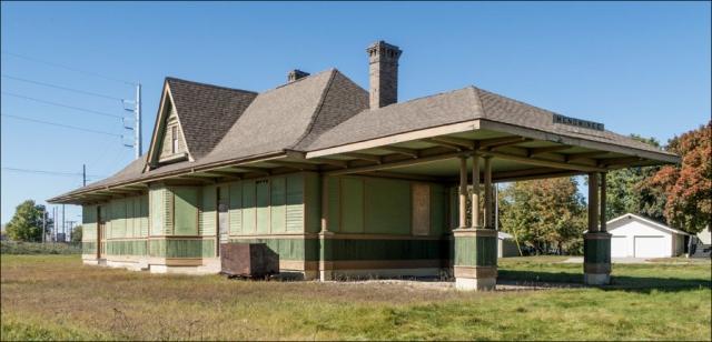 Old RR Depot - Menominee, MI