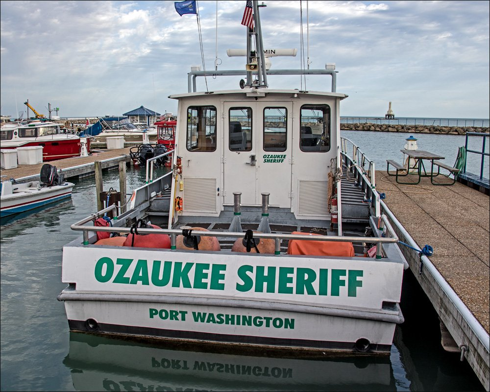 Ozaukee Co. Sheriff Dept. Rescue Boat