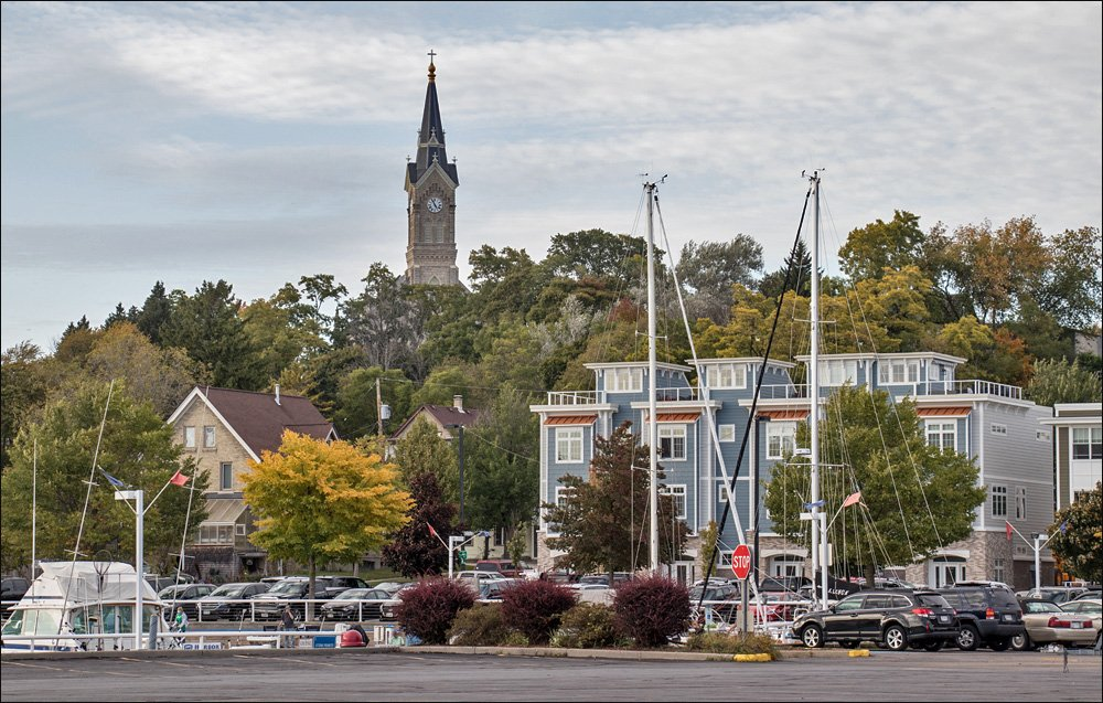 St. Mary's steeple watches over Port