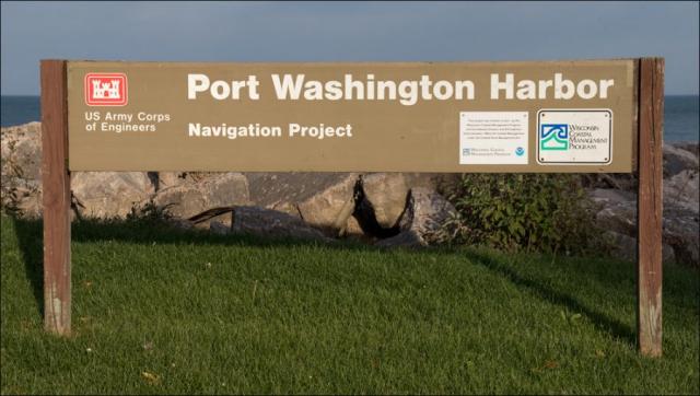 Harbor Signage