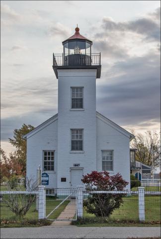 Sand Point Lighthouse - Escanaba, MI