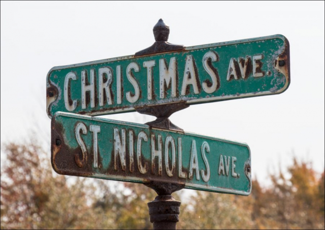 Street Signs - Christmas, MI