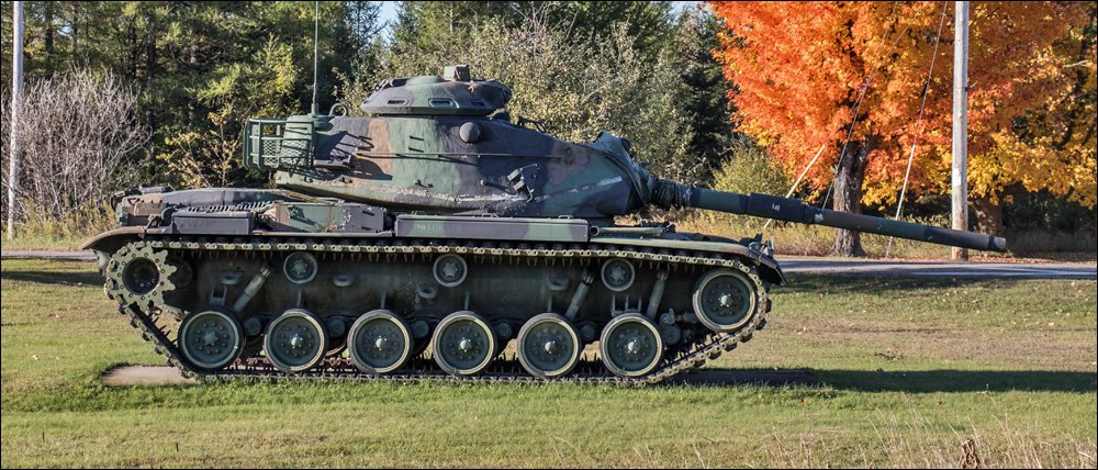 Thomas St. Onge Vietnam Museum - M-60 Tank