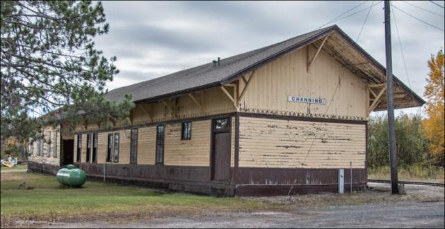 Railroad Depot - Channing