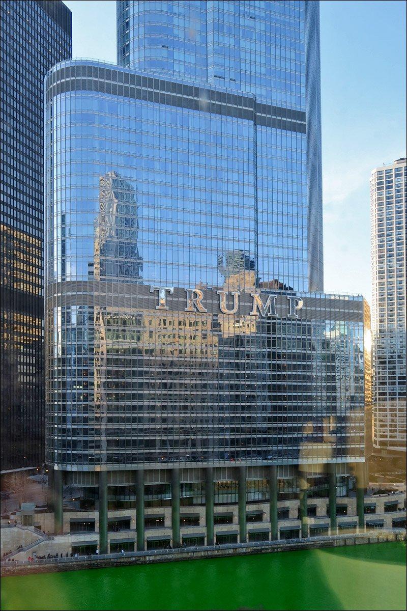 Trump International Hotel & Tower - Reflection