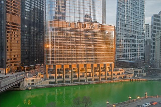 Trump International Hotel & Tower - Morning Light