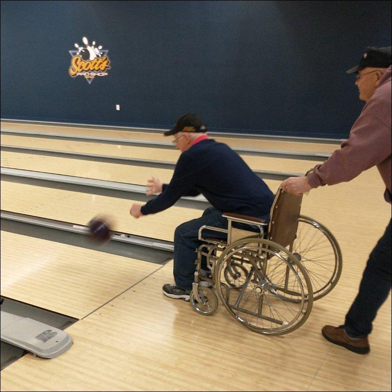Wheelchair Bowling